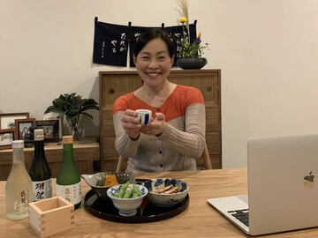 Offering: Sake tasting and Izakaya culture online experience