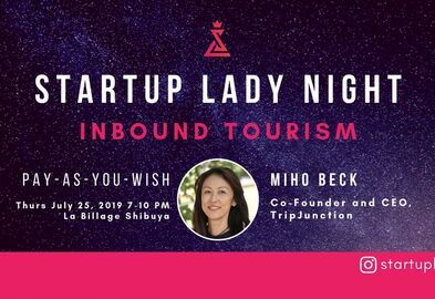 Startup lady event